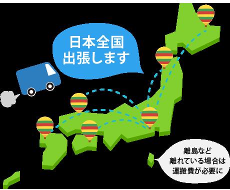 日本全国主張します